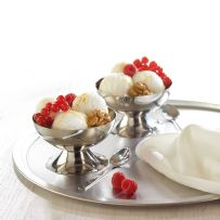 Pack of Two Ice Cream Sundae Bowls & Spoons